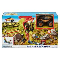 Набор Hot Wheels Monster trucks Соревнования по прыжкам в высоту (GCG00)