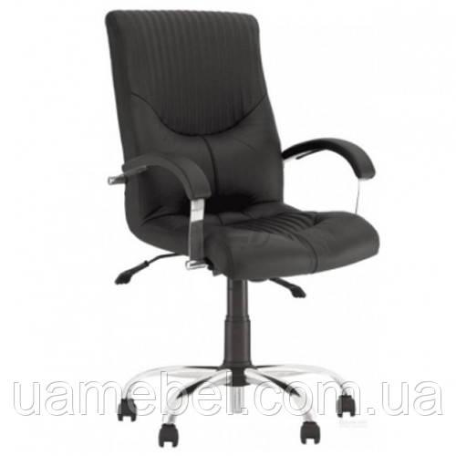Кресло для руководителя GERMES (ГЕРМЕС) STEEL LB CHROME COMFORT