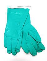 Рабочие перчатки нитриловые химстойкие Trident 4115