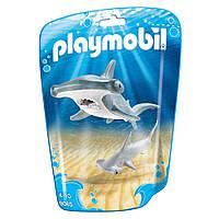 Конструктор Playmobil Акула-молот з дитинчам 9065
