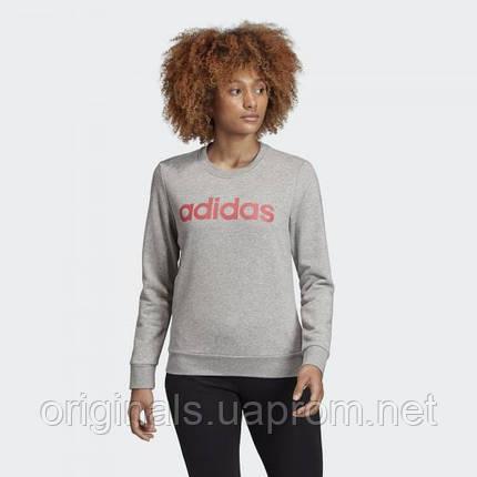 Свитшот женский Adidas Essentials Linear FH6608, фото 2