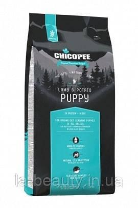Корм для щенков Holistic Nature Line (HNL) Chicopee Puppy Lamb & Potato (Ягненок и картофель), 12 кг