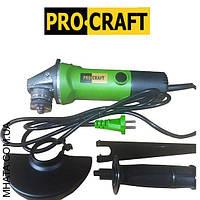 Машина угловая шлифовальная  ProCraft PW-1350 125 мм