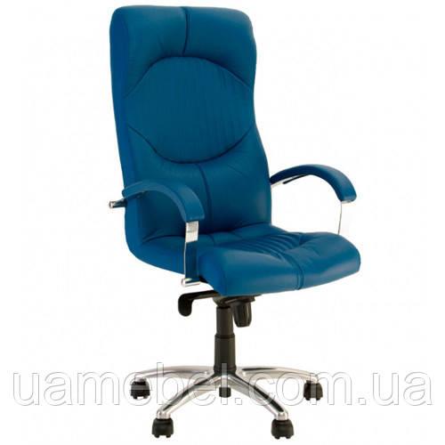 Крісло для керівника GERMES (ГЕРМЕС) STEEL CHROME