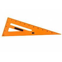 Треугольник Yes для школьной доски прямоугольный с держателем 370277