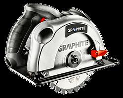Пила циркулярная 1200Вт диск 185x20мм GRAPHITE 58G488