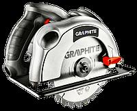Пила циркулярная 1200Вт диск 185x20мм GRAPHITE 58G486