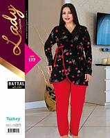Домашний костюм (пижама) больших размеров LADY LINGERIE 177