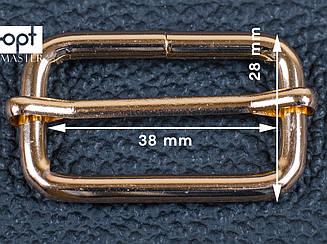 Рамка для сумки 38мм, арт. 65-112, золото