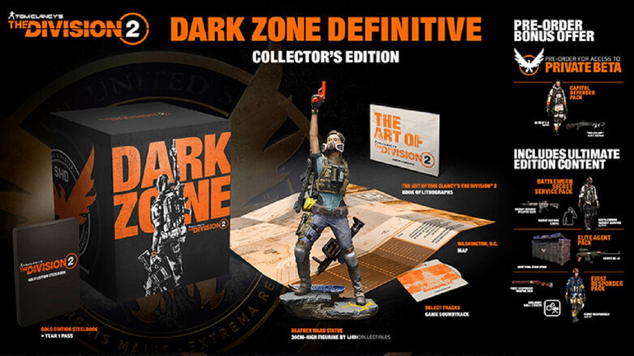 Tom Clancy's The Division 2 Dark Zone RUS PS4