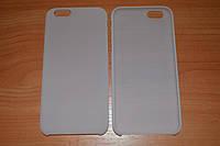 """Прорезиненный пластиковый чехол для Apple iPhone 6 4.7"""" (белый, матовый цвет)"""