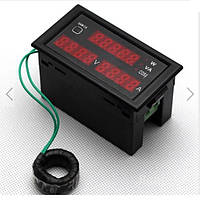 Цифровой амперметр вольтметр ваттметр переменного тока на микроконтроллере электронный 100А
