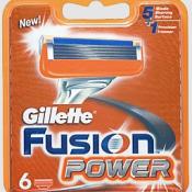Сменные кассеты для бритья Gillette Sensor Excel 6шт. в упаковке