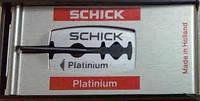 Классические лезвия Schick Premium 100шт.