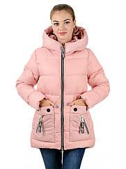 Женский пуховик IRVIC 44 Розовый IrC-Z10173-44, КОД: 261005