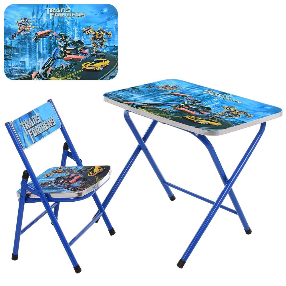 Столик детский складной со стульчиком A19-TF Гарантия качества Быстрая доставка
