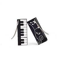 """Двухсторонняя-флешка """"Фортепиано/Клавиши/Синтезатор&Ноты"""" 32 Гб , для музыкантов или просто любителей музыки"""