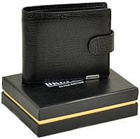 Мужской кожаный кошелек Bretton Натуральная кожа премиум качества