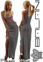 Платье с разрезом 03062