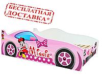 """Мини Маус  розовая""""Evolution"""". Viorina-Deco. Детская кровать. Для девочек."""