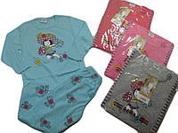 Пижама для девочек трикотажная, размеры 104, арт. 1502-3
