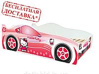 """Хело Китти розовая""""Evolution"""". Viorina-Deco. Детская кровать. Для девочек."""