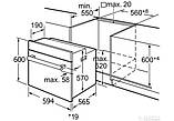 Духовой шкаф Minola OE 64134 INOX/BL, фото 3