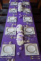 Набор посуды стеклопластик Capital For People белый с серебром 96 предметов DD-36, КОД: 165011