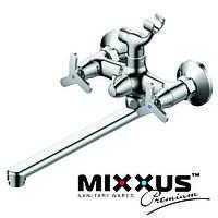 Смеситель для ванны длинный нос MIXXUS Apollo Euro (Chr-006), Польша