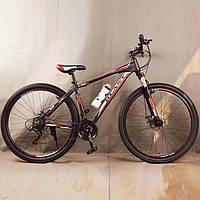 Велосипед спортивный S300 BLAST-NEW. Алюминиевый. Диаметр колёс 29'', Рама 18', Чёрно-Красный, фото 1