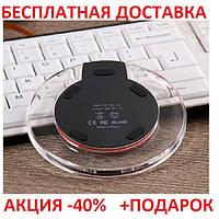 Qi передатчик беспроводная зарядка телефона (19/70) Fantasy Wireless Charge K9-16 портативное зарядное устройство, фото 1