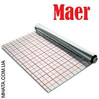 Пленка фольгированная для теплого пола с разметкой MAER 50м