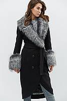 Зимнее пальто женское с мехом LS-8758-8