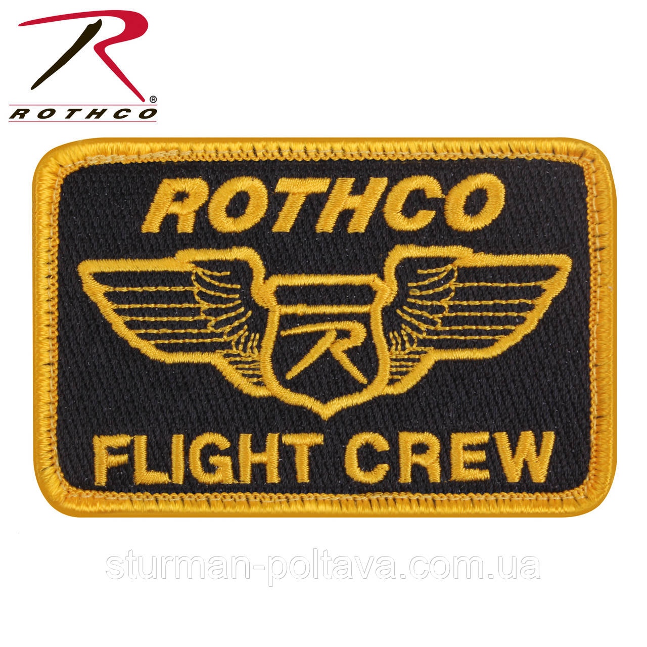 Патч Rothco Morale Velcro Color Patch Rothco Flight Crew