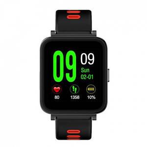 Умные смарт часы Smart Watch D10 Black & Red Часофон