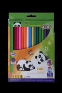 Карандаши цветные Zibi 18 цветов KIDS Line