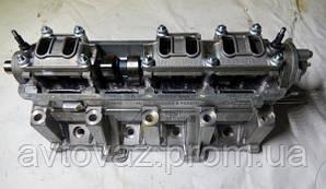 Головка блока цилиндров ВАЗ 1118 Калина двигатель 1,6 8 кл. в сборе (под датчик фаз)