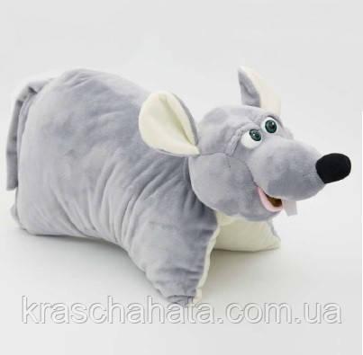 Крыска подушка, мягкая игрушка, упаковка для конфет, 1200  грамм