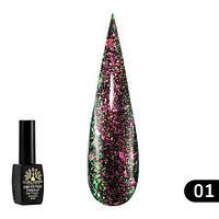Гель-лак Global Fashion Shine Spectrum алмазный № 301, 8 мл