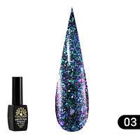 Гель-лак Global Fashion Shine Spectrum алмазный № 303, 8 мл