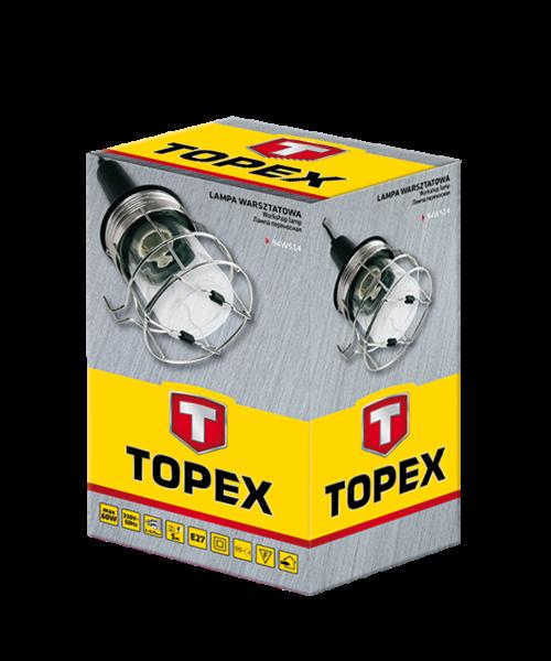 Лампа переносная с металлическим корпусом TOPEX 94W514