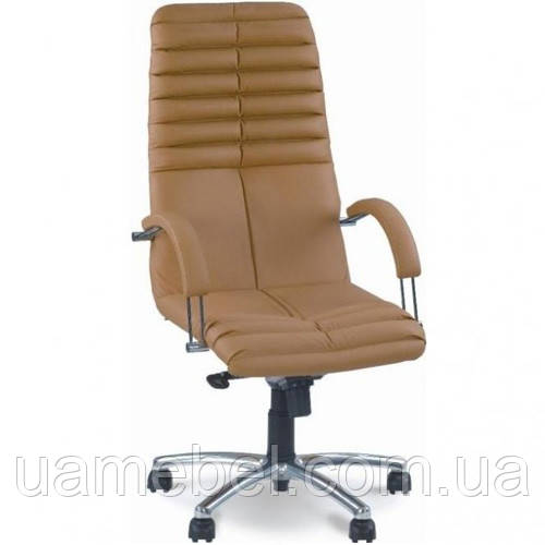 Кресло для руководителя GALAXY (ГЕЛАКСИ) STEEL CHROME