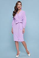Платье GLEM Одри L Лавандовый GLM-pl00198, КОД: 717535