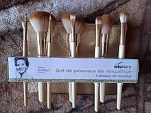 Пензлики для макіяжу з чохлом Melinera