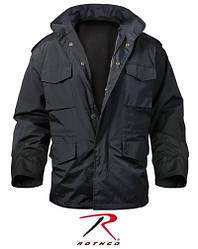 Куртка M-65 STORM JACKET  цвет черный нейлон  ROTHCO США