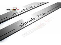 Накладки на пороги для Mercedes-Benz CLA W117 (2013-н.д.)