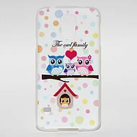 Чехол силиконовый для Samsung Galaxy S5 G900H (i9600) Owl Family, фото 1