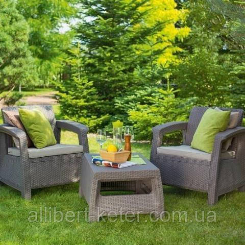 Комплект садовой мебели Curver Corfu Weekend