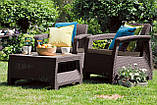 Комплект садовой мебели Curver Corfu Weekend, фото 5