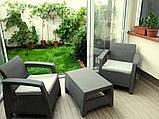 Комплект садовой мебели Curver Corfu Weekend, фото 10